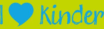 I Love Kinder logo