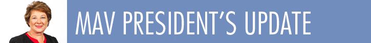 MAV President's Update - occasional report from Cr Coral Ross, Interim President of the MAV