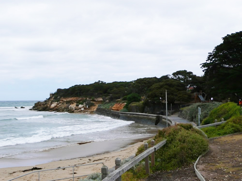 Before the Point Lonsdale foreshore revitisation