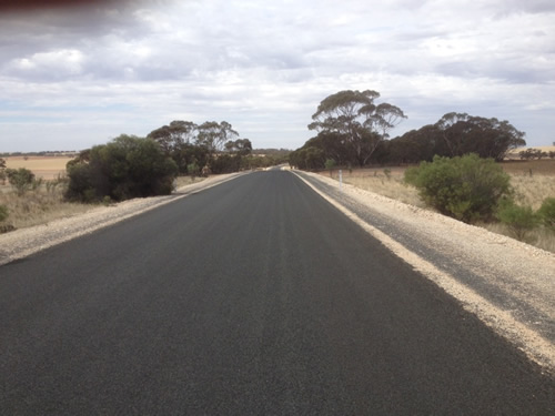 Local roads reconstruction, after photo