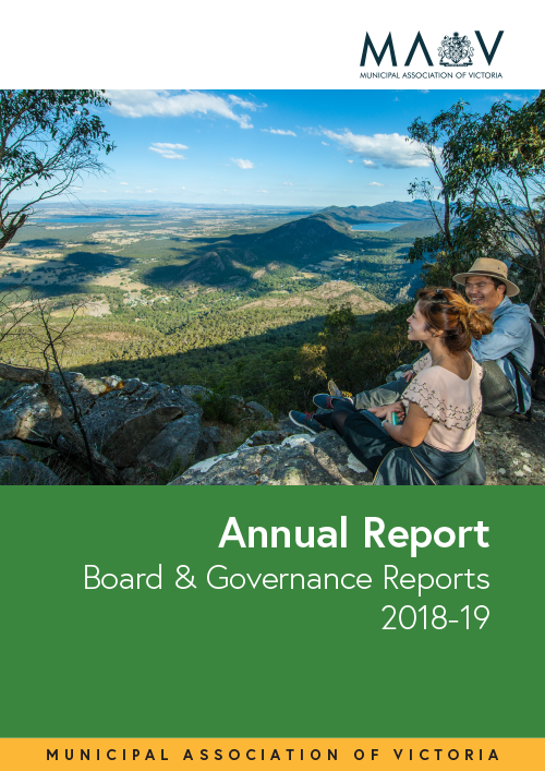 MAV Board and Governance Report cover
