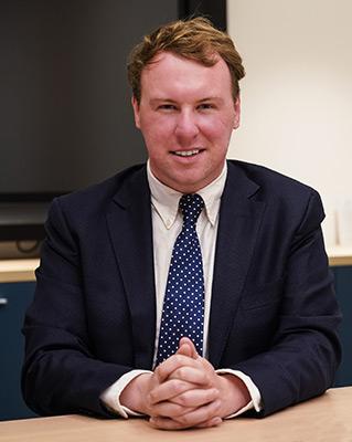 Cr Josh Gilligan, Interim MAV President