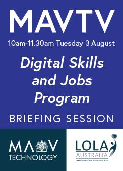 Digital Skills & Jobs Program Briefing Session