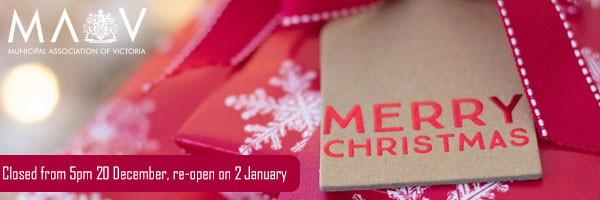 MAV closed from 5pm 20 December, re-open on 2 January