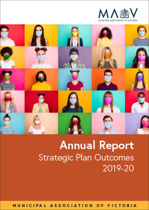 Picture of the cover of the MAV's Strategic Plan Outcomes Report