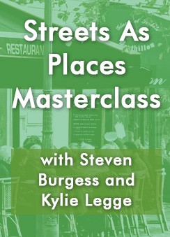 Streets As Places Masterclass - cafe scene