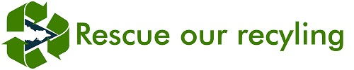 Rescue Our Recycling Banner