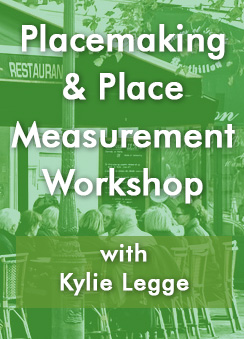Placemaking & Place Measurement Workshop - cafe scene