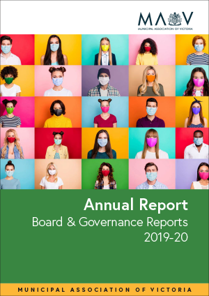 Picture of the cover of the MAV's Board and Governance Report