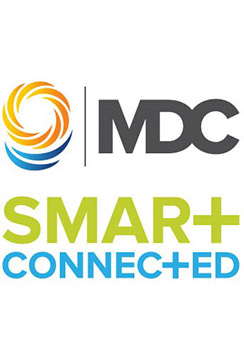 MDC Smart and Connected Logo