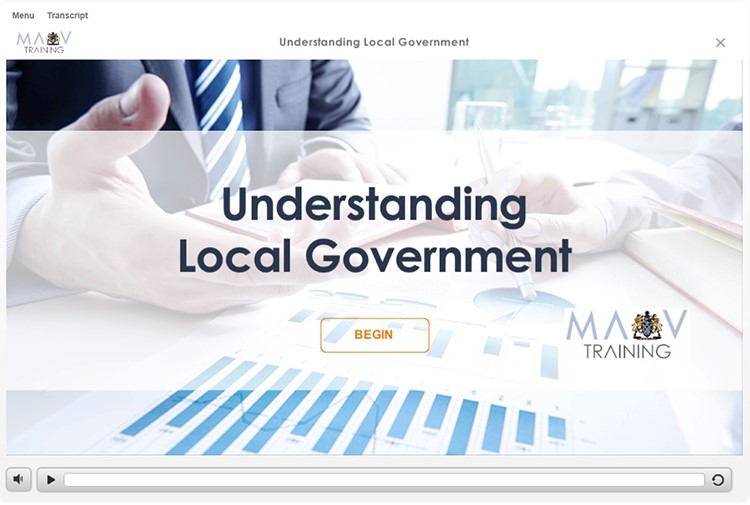Understanding Local Government eLearning module