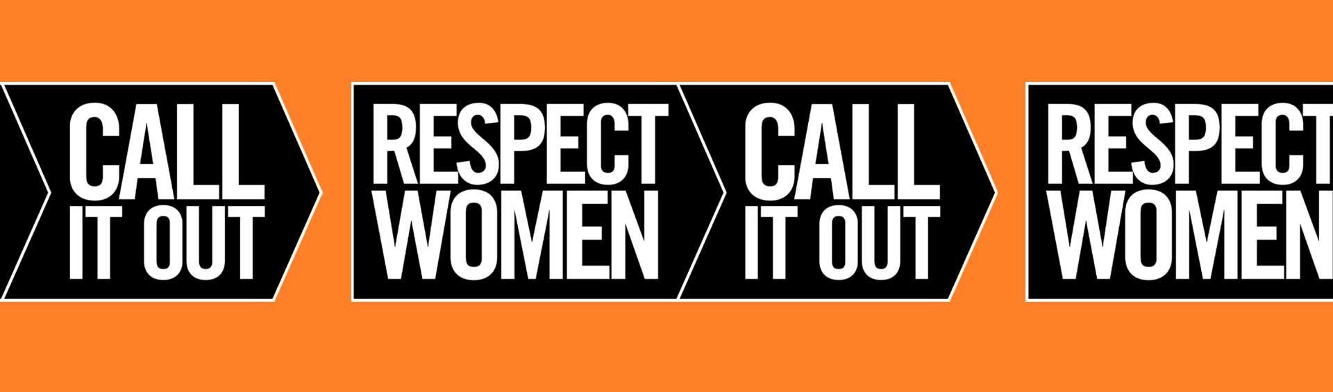 Respect Women - Call It Out banner image