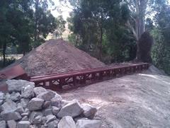 New Goads Road Bridge under construction
