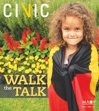 Cover of CiVic issue 6.